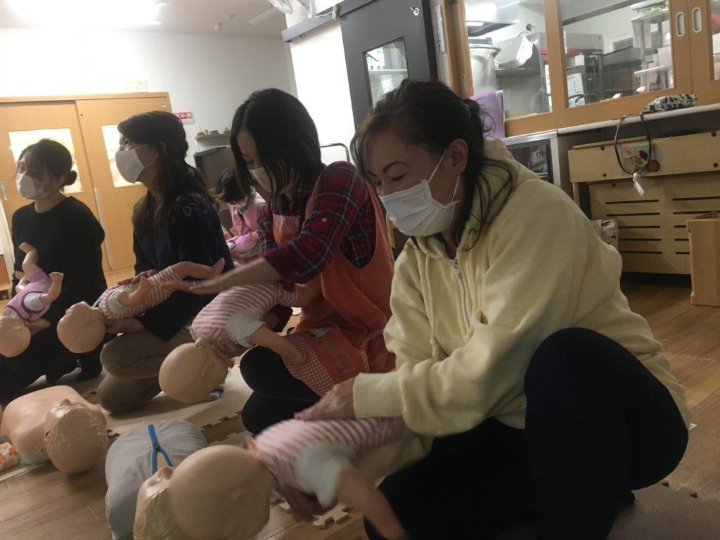 救命救急講習を受講しました。