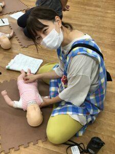 救命救急講習を受けました。
